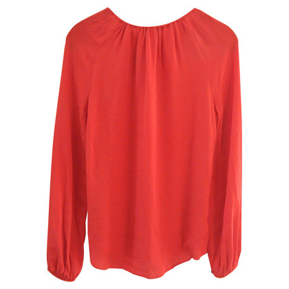 Diane von Furstenberg Red silk blouse