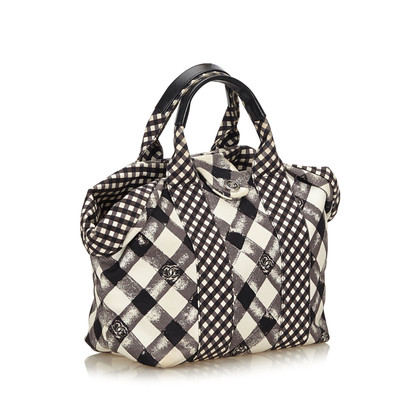 "Chanel ""Gingham Tote Bag"""