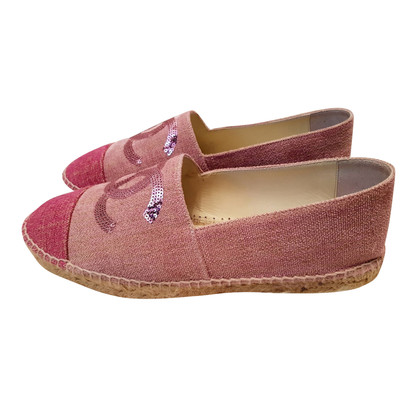 Chanel Espadrilles in pink