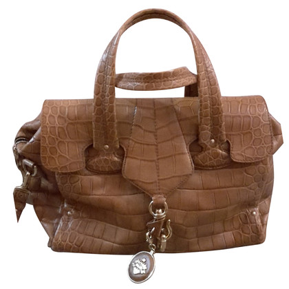 Bally Handbag in crocodile look