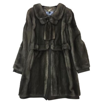 Blumarine Mantel aus Nerz