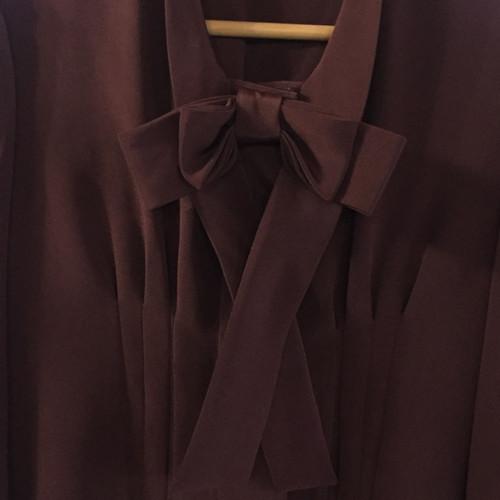 1daf66a23f92c Oscar de la Renta Silk blouse - Second Hand Oscar de la Renta Silk ...