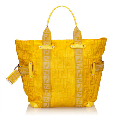 Fendi Zucca Nylon Tote Bag
