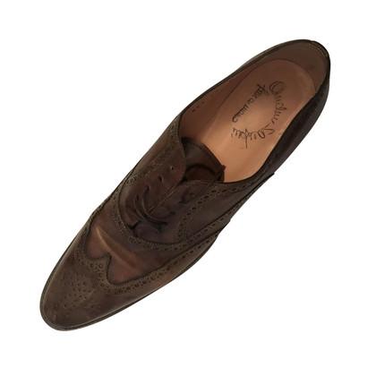 Santoni scarpe stringate