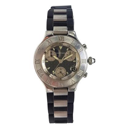 """Cartier Horloge """"21 Chronoscaph"""""""