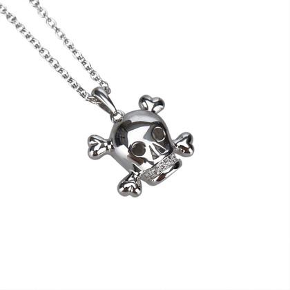 Christian Dior Tete De Mort Skull Necklace