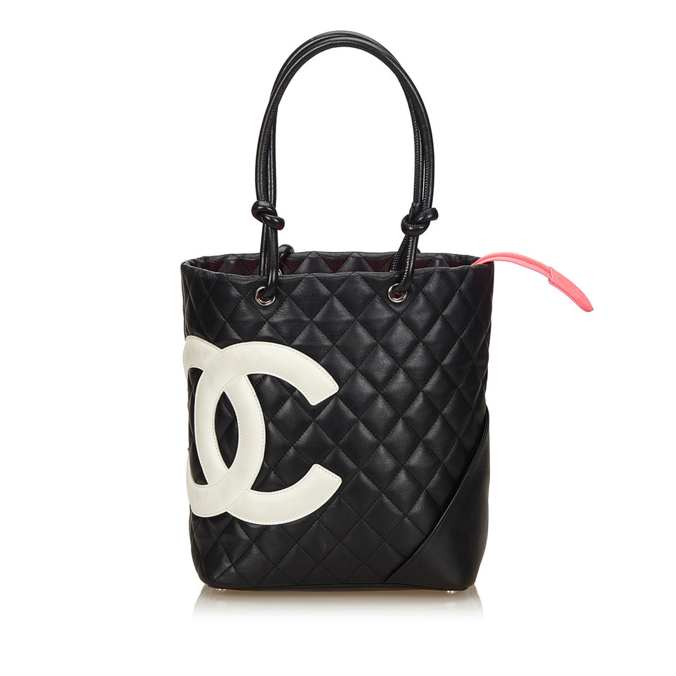 chanel cambon ligne handtasche second hand chanel cambon ligne handtasche gebraucht kaufen f r. Black Bedroom Furniture Sets. Home Design Ideas