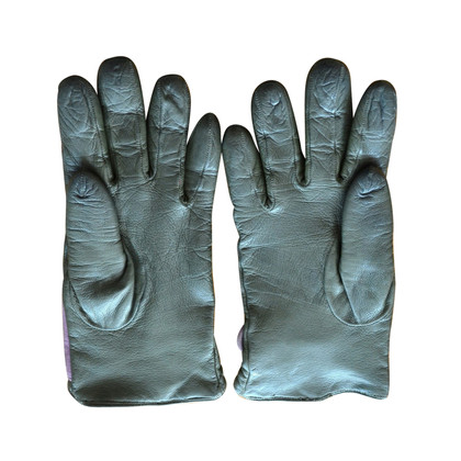 Armani lederen handschoenen
