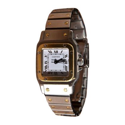 "Cartier Clock ""Santos Galbée"""