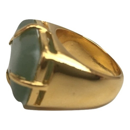 Carolina Herrera Gold-colored ring with stone