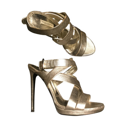 Dolce & Gabbana Silver-colored sandals
