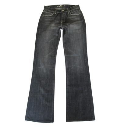 7 For All Mankind jeans bootcut jagger grigio scuro
