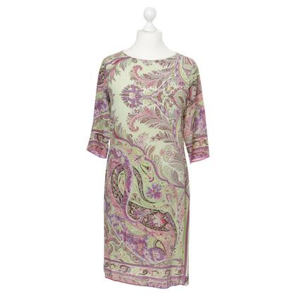 Etro Silk dress with pattern