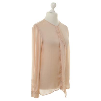 Stella McCartney Silk blouse in nude