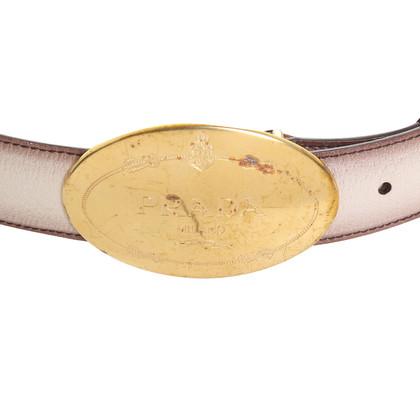 Prada Belt in beige
