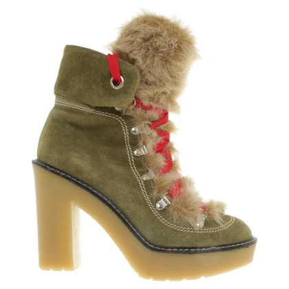 Sonia Rykiel Ankle boots in green