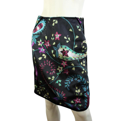 Armani Black skirt with flowers