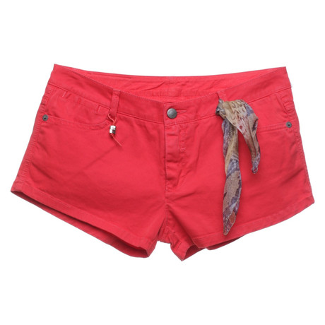 Ermanno Scervino Shorts in Rot Rot