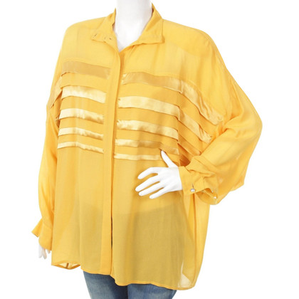 Gianni Versace zijden blouse