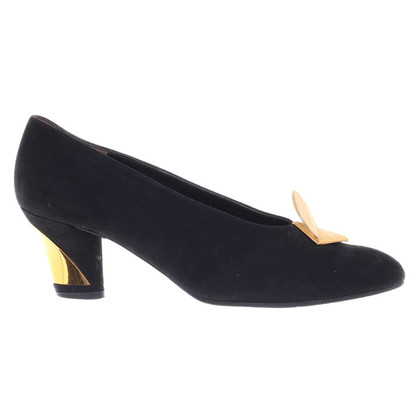 Jourdan pumps in nero