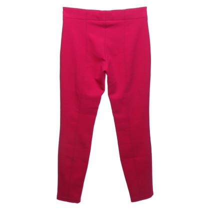 René Lezard Pantalon en rose