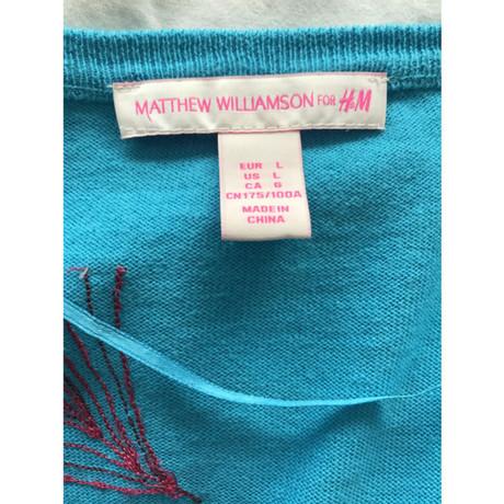 Matthew Strickjacke T眉rkis Williamson amp;M Matthew Williamson H for OrYwRrq4