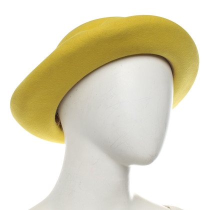 Hermès Hat in yellow
