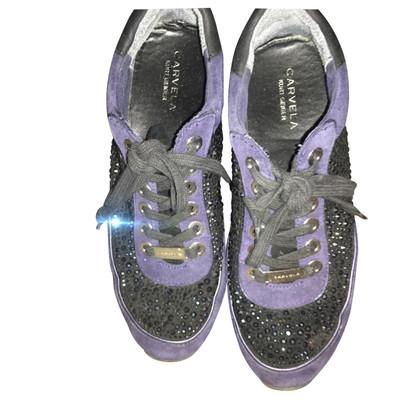 Kurt Geiger Sneaker met strasssteentjes