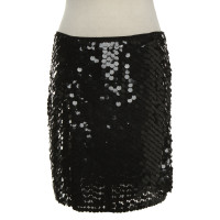 Armani Jeans Lovertjes rok in zwart