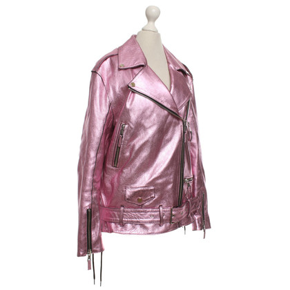 Other Designer Filles A Papa - leather jacket