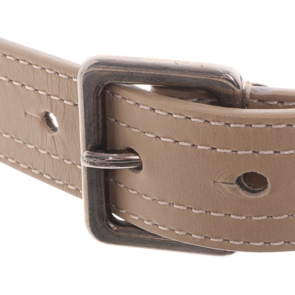 Christian Dior riem in Beige