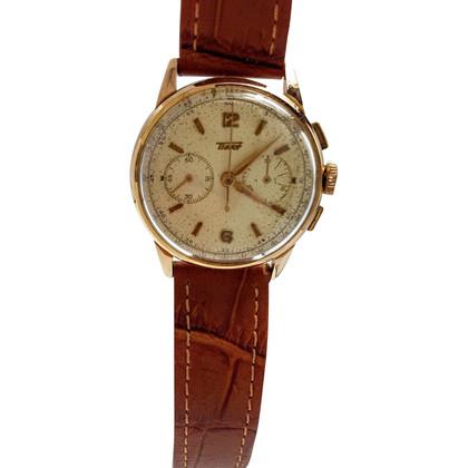 "Tissot Orologio ""rosa 18 carati in oro Vintage Chronograph"""