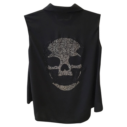 Philipp Plein Top de soie