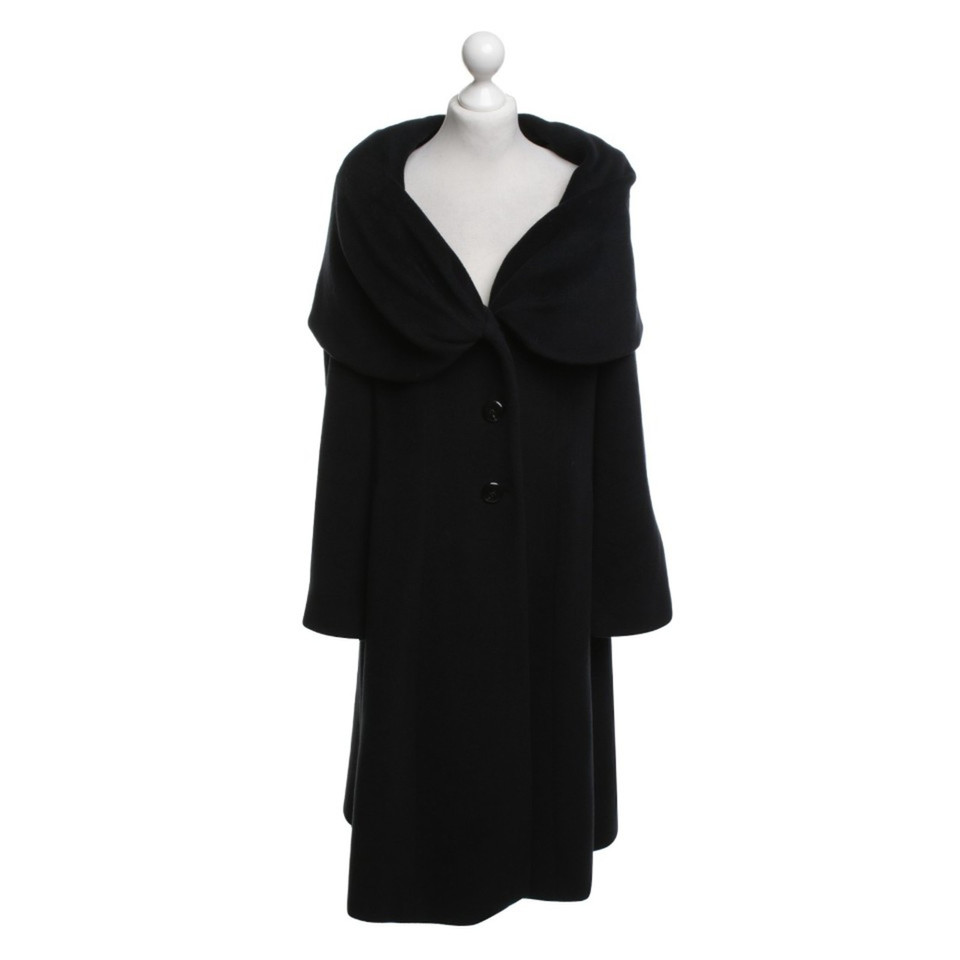 armani collezioni schwarzer mantel second hand armani collezioni schwarzer mantel gebraucht. Black Bedroom Furniture Sets. Home Design Ideas