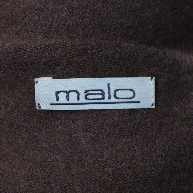 Malo Collo A Marrone Maglione Second Hand In Alto r4rFwAqE