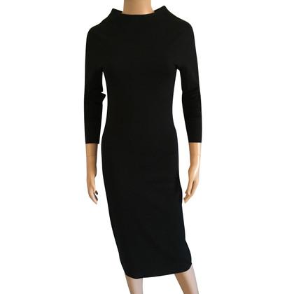 Tomas Maier zwarte jurk