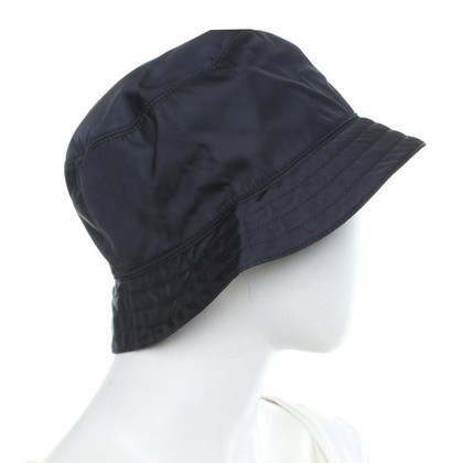 Prada Cappello in blu scuro