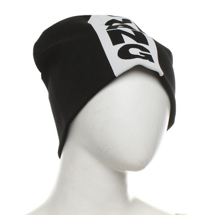 Alexander Wang Cap in zwart / White