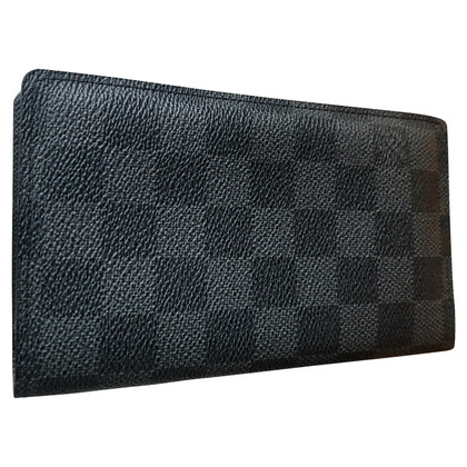 Louis Vuitton Kartenetui aus Damier Graphite Canvas