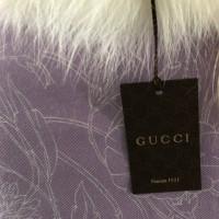 Gucci Poncho mit Pelz
