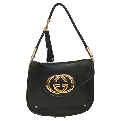 Gucci Handbag with gold logo