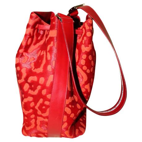 Günstig Kaufen Neuesten Kollektionen Sneakernews Online Salvatore Ferragamo Handtasche in Rot Rot z2doQjeOt