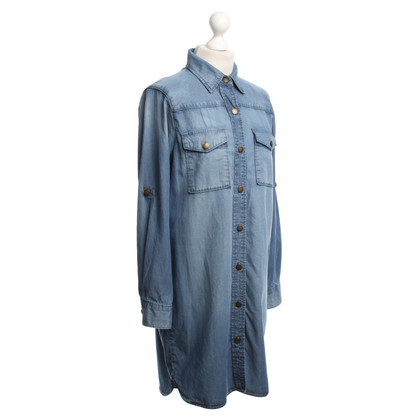 Current Elliott Jean Dress in Blue