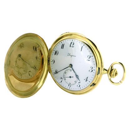 Longines Pocket watch made of 750 yellow gold