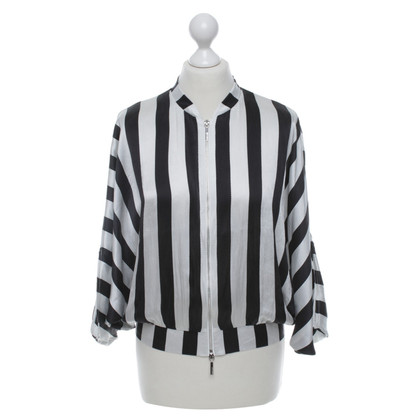 Armani Jeans Blouse with striped pattern