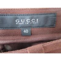 Gucci 3/4-Hose in Braun