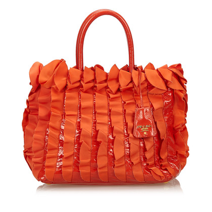 Prada Handtas in Orange