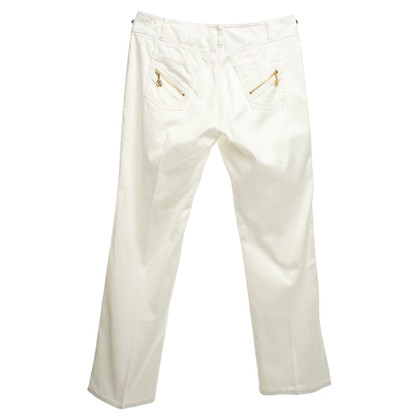 Roberto Cavalli Broek in White
