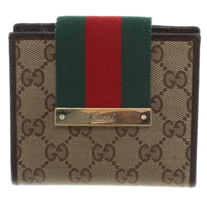 Gucci Portemonnaie mit Muster
