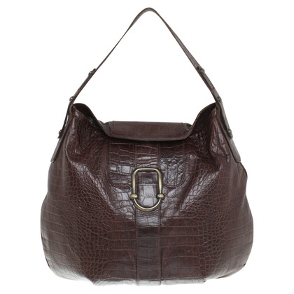 Armani Handbag in reptile look
